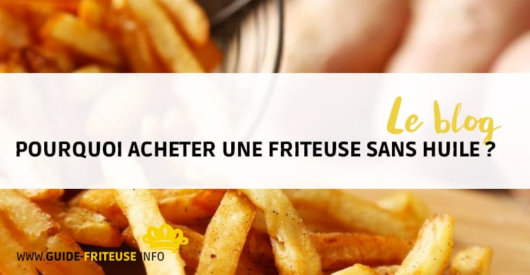 acheter friteuse sans huile