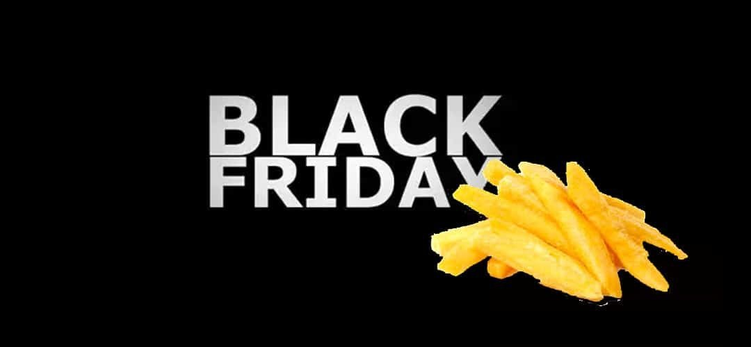 black friday friteuse