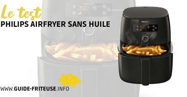 Test philips airfryer