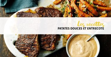 recette patate douce actifry